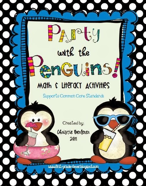 http://www.teacherspayteachers.com/Product/Party-with-the-Penguins-Math-Literacy-Unit-179267