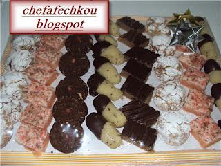 Délices à la noix de coco au chocolat vermicelle