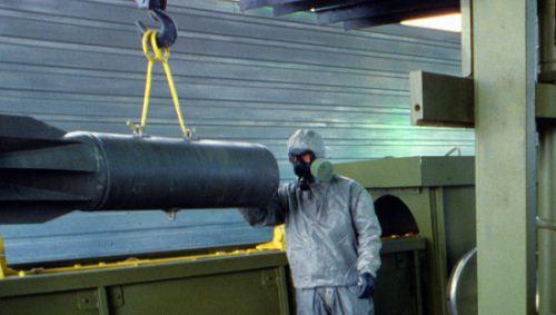 Senjata Kimia Rusia