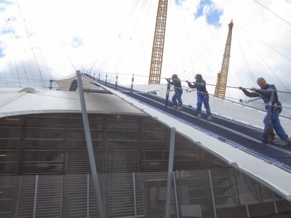 Zwiedzanie o2 Dome