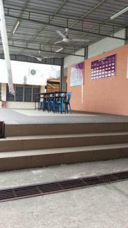 Meja promosi kolej komuniti