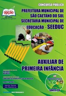 Apostila Completa Secretaria de Educação de São Caetano do Sul SEEDUC 2013