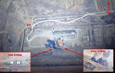 Serangan Rafale pada depot amunisi ISIS