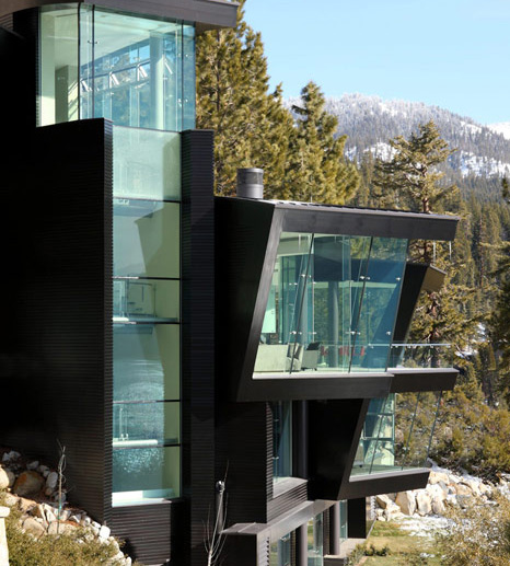 5 Floors Glass Elevator Private Pier Modern Lake House For Sale At A Cool 43 000 000 If
