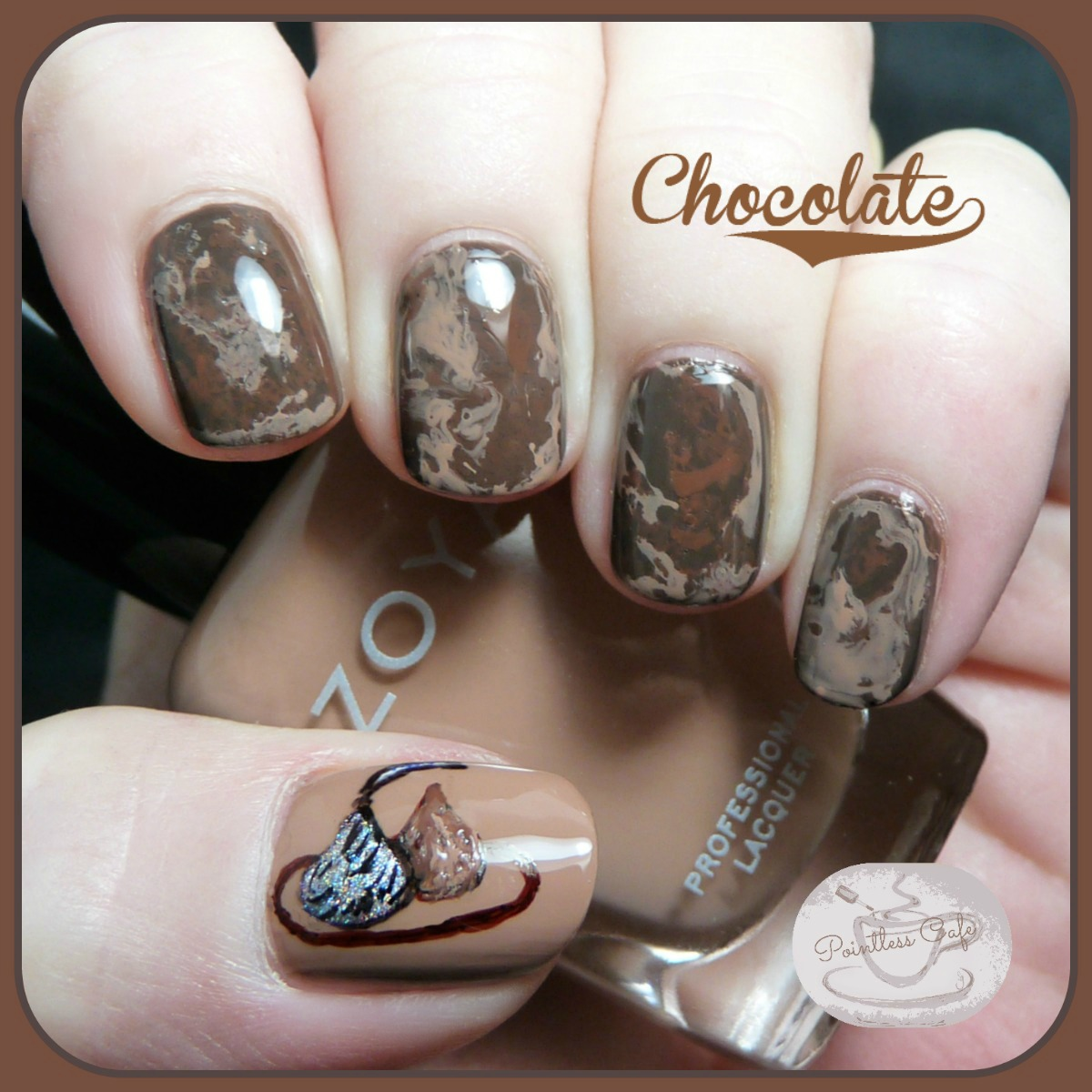 chocolate-nail-art