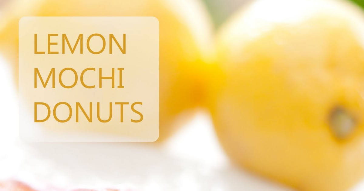 Yee-Foodie: Donut Challenge #1 - Baked Lemon Honey Mochi ...