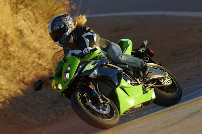 2011 Kawasaki Ninja ZX-6R In Action