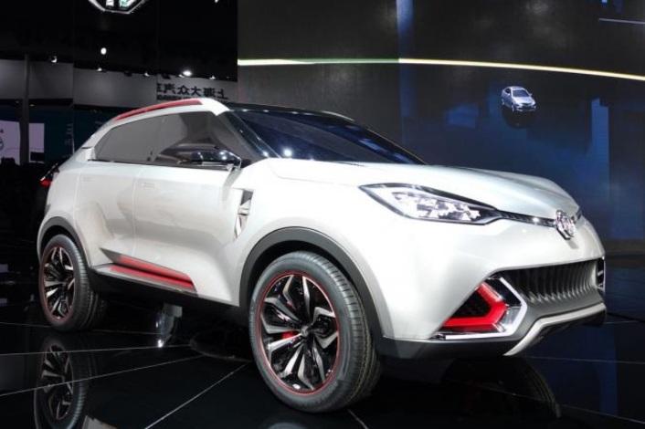 MG CS SUV concept. Majalah Otomotif Online