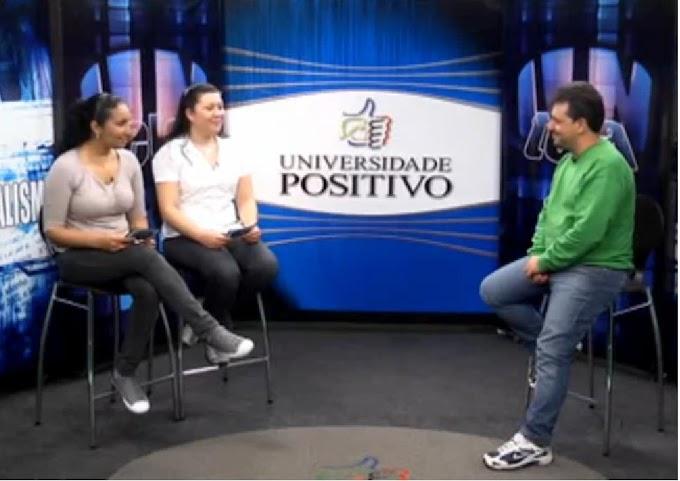 Telejornal-laboratório da Universidade Positivo é premiado como o melhor do Brasil
