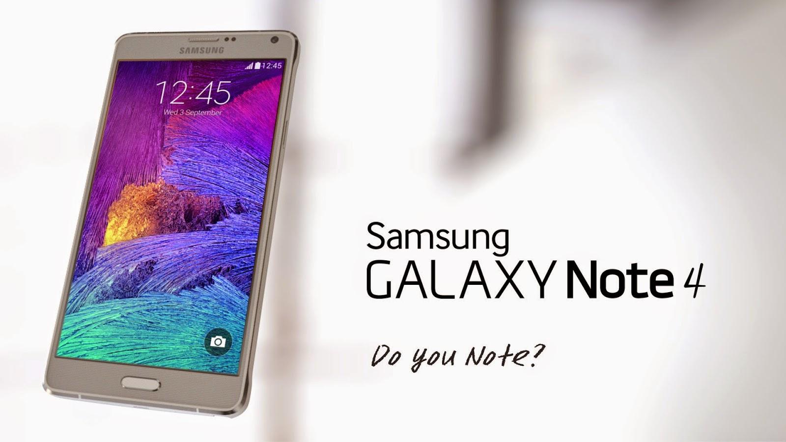 Harga Phablet Samsung Galaxy Note 4