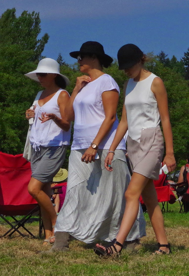 Spectators at The Southlands Cup: Beyond the Blue Umbrella