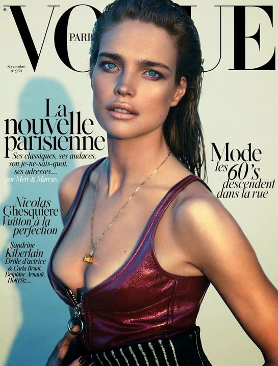 Natalia Vodianova for Vogue Paris Magazine, September 2014