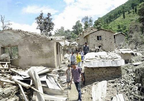 Jire_landslide_sunkoshi_flood