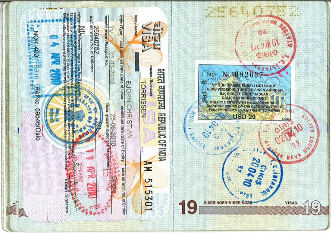 hva koster visum til tyrkia