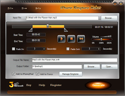 3herosoft iPhone Ringtone Maker [Download]