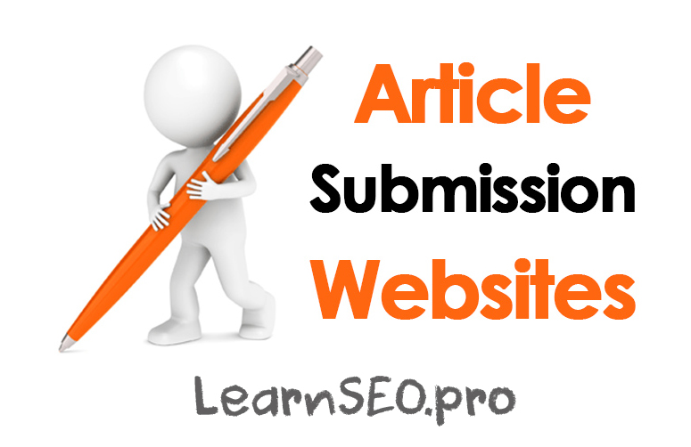 Best article writing and submission services