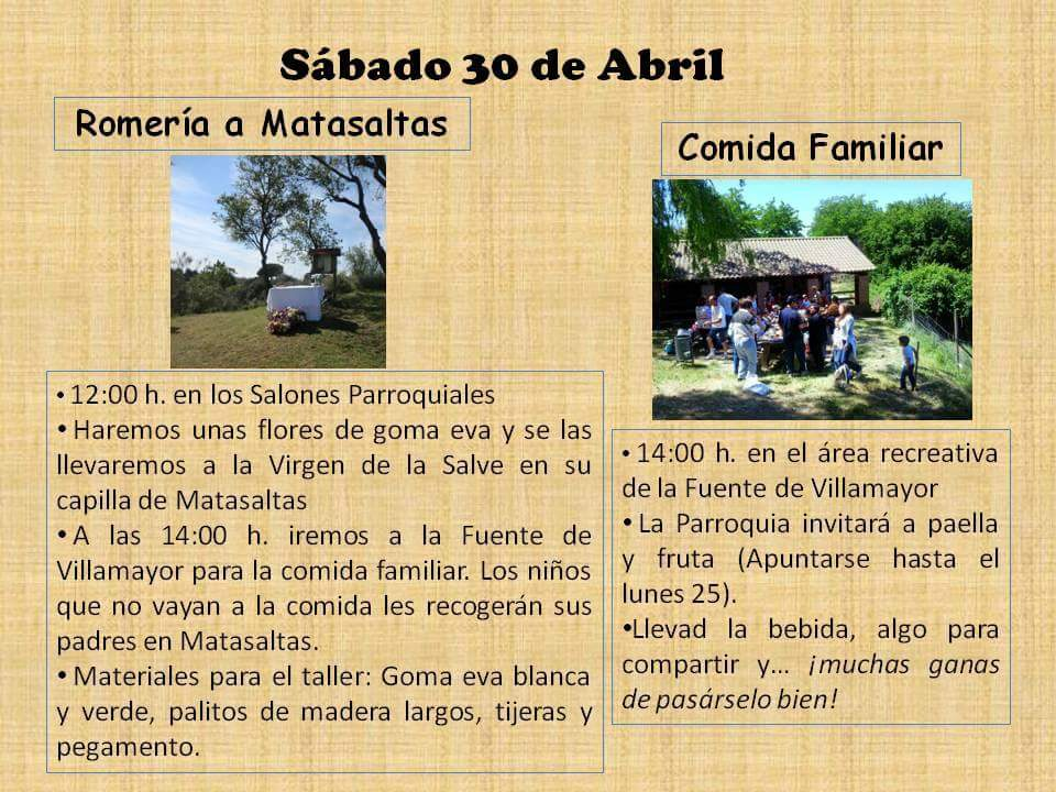 III COMIDA FAMILIAR