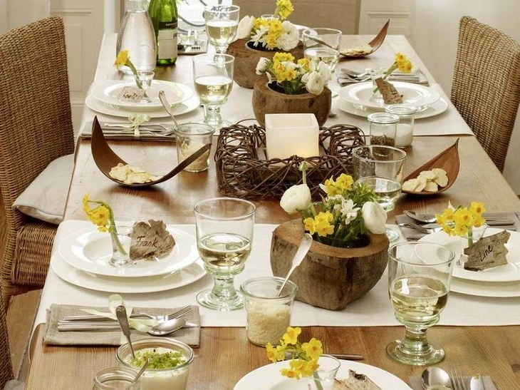 Cupcake love studio dining table decoration ideas for Dining table decoration images