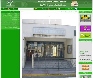 PÁGINA WEB DEL COLEGIO