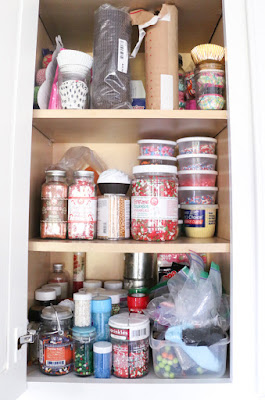 Cabinet Filled with Sprinkles