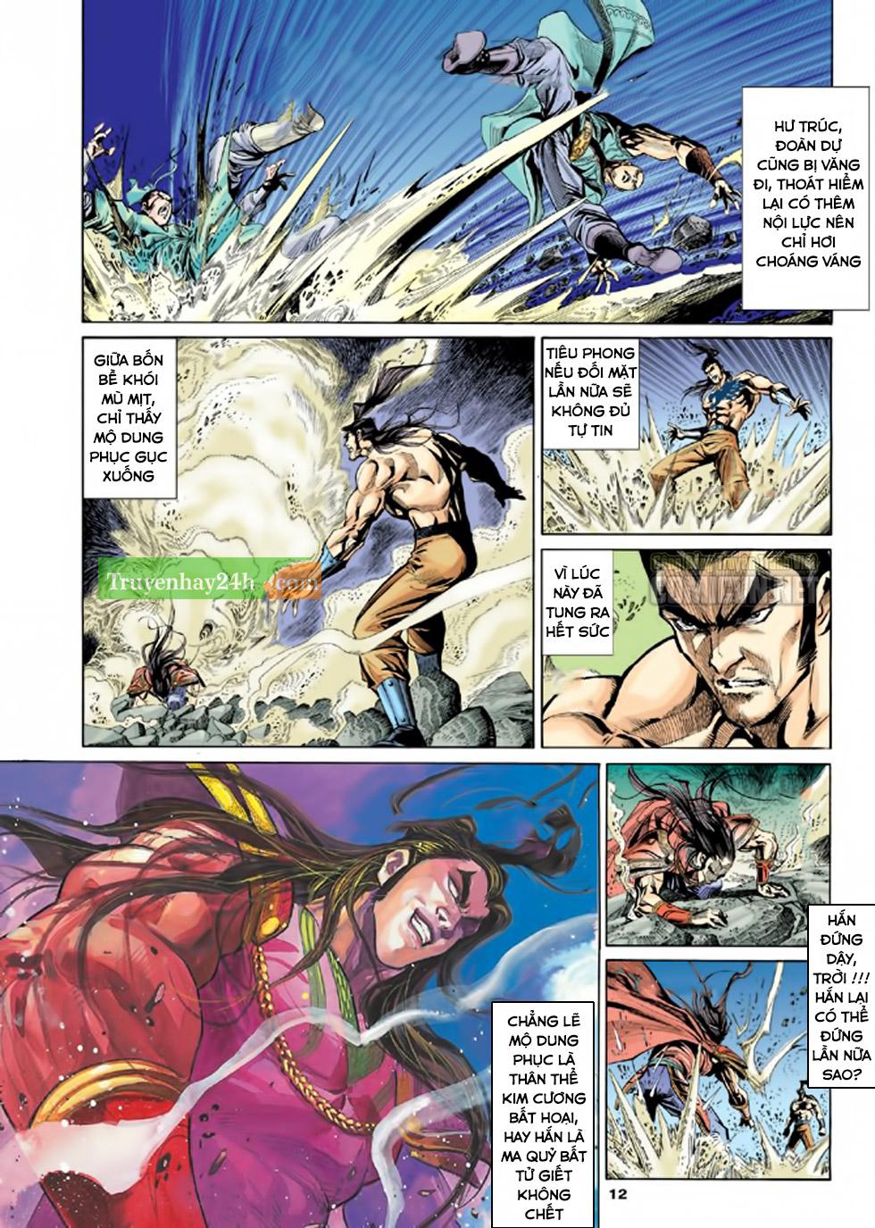 Thiên Long Bát Bộ chap 100 - Trang 13