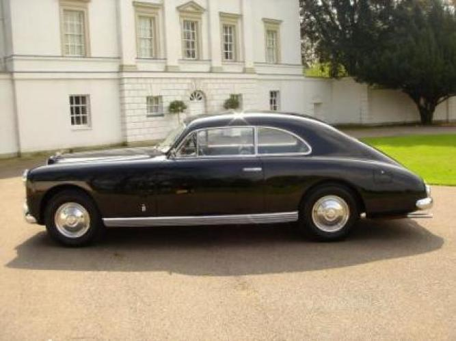 Bentley Spotting Bentley Mkvi Cresta Coupe By Facel Farina