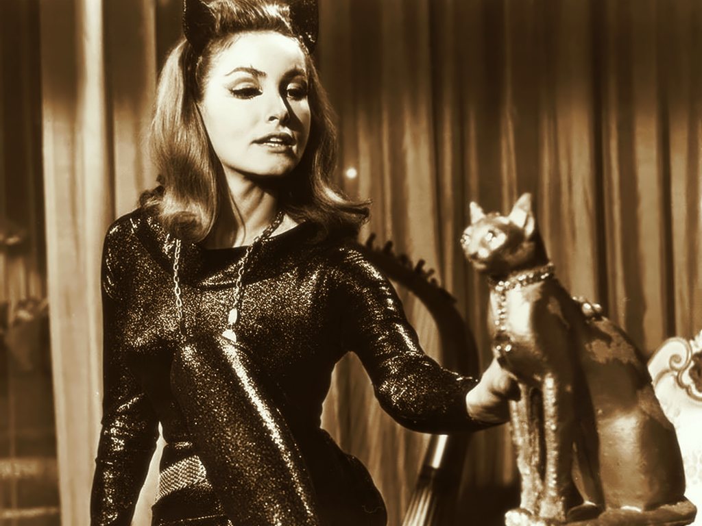 Catwoman Eartha Kitt Julie Newmar ACIDEMIC - MEDIATED: K...