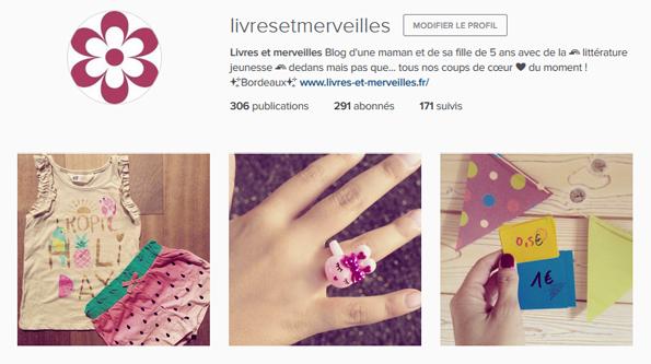 Livres et merveilles sur Instagram - Mois de juin