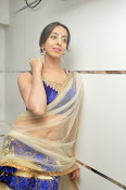 Sanjjana Latest Glam pics in saree-thumbnail-11