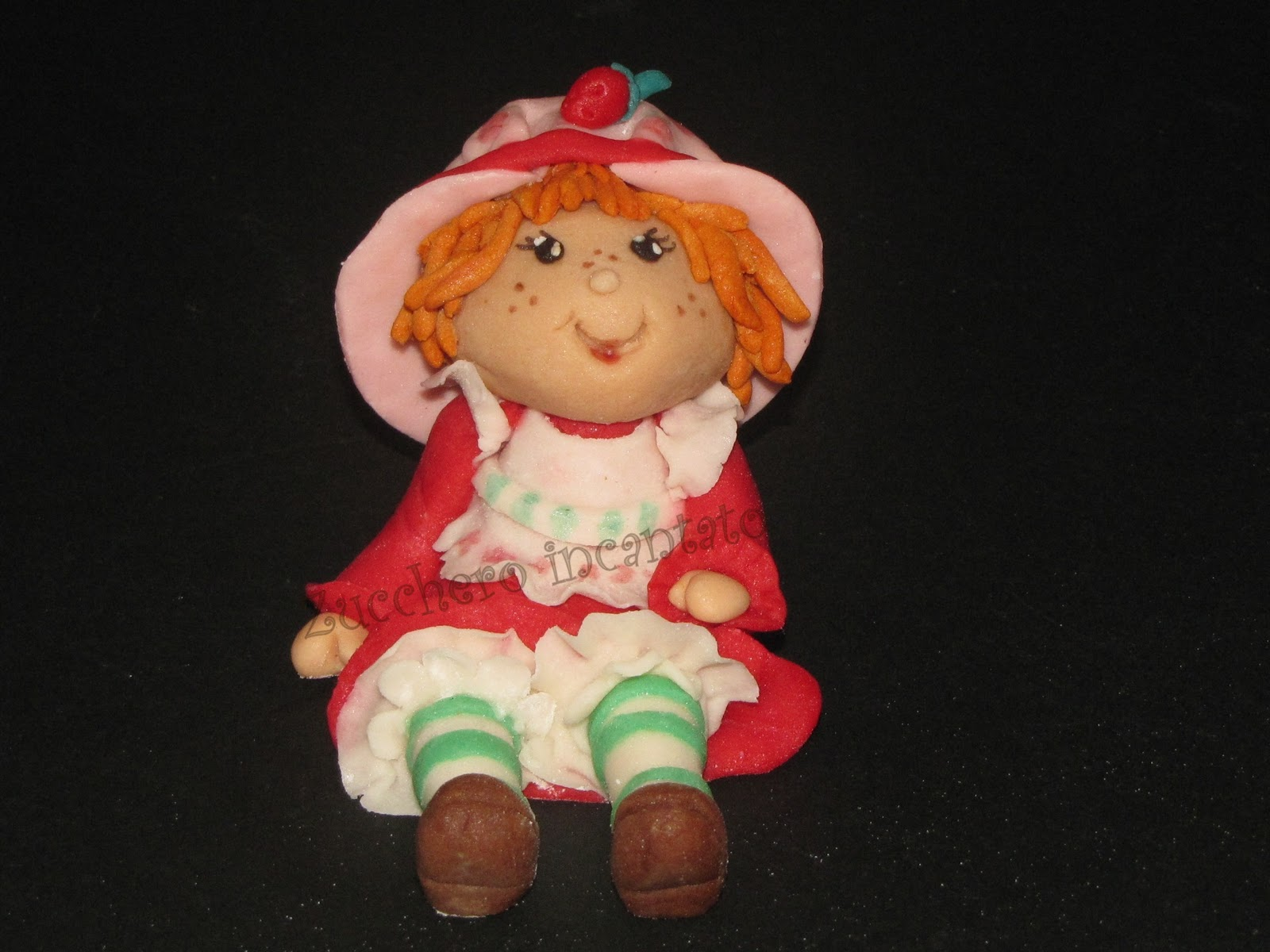 Zucchero incantato strawberry shortcake fragolina dolcecuore