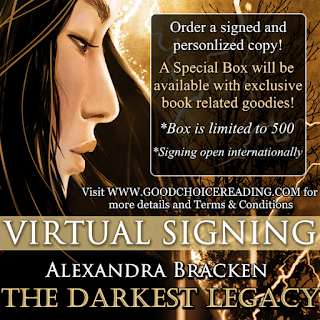 The Darkest Legacy by Alexandra Bracken Virtual Signing
