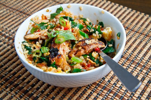 Sweet Chili Chicken Rice Bowl on Closet Cooking