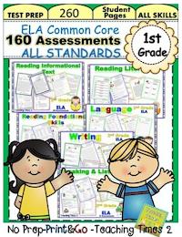 (1st Grade) ELA Assessments