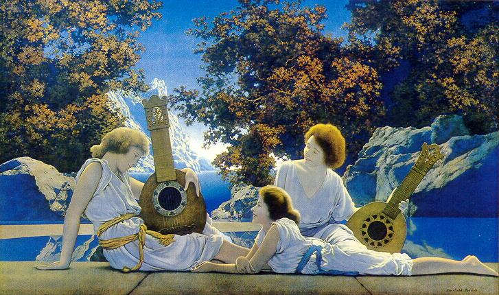 maxfield parrish interlude
