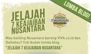Jelajah 7 Keajaiban Nusantara