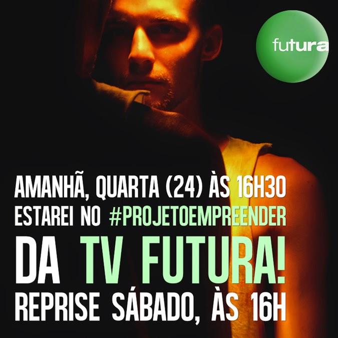 Enrique Coimbra no Canal Futura: #projetoempreender