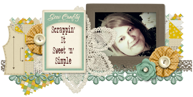 Scrappin' It Sweet 'n' Simple