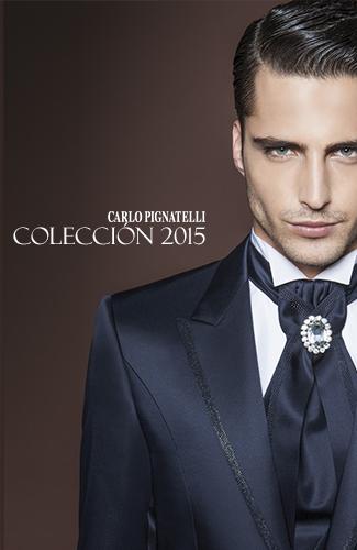 Carlo Pignatelli es una marca de alta costura italiana, especializada en trajes de ceremonia. Como podréis ver en las imágenes, son trajes muy modernos y