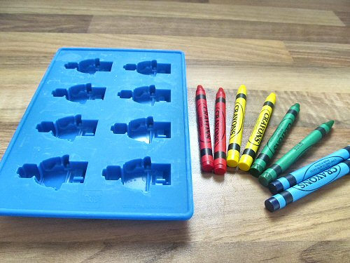 how to make lego crayons