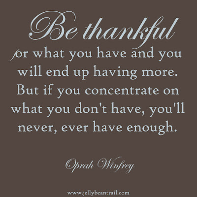 Be thankful quote