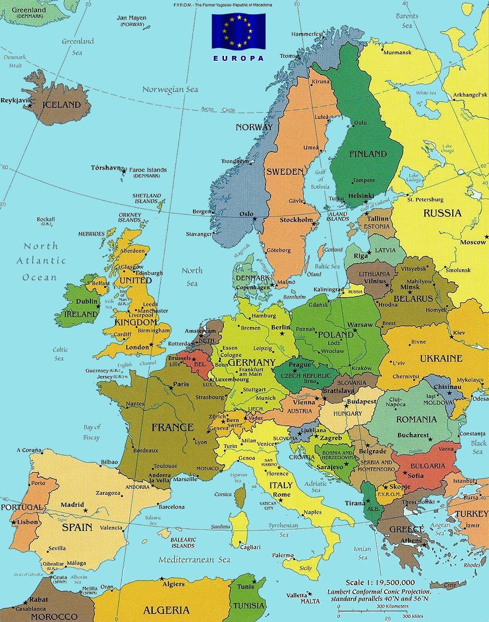 Helsinki Map Europe