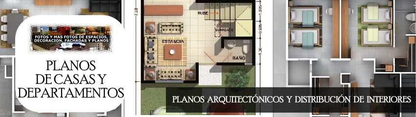Planos Arquitectnicos de Casas y Departamentos