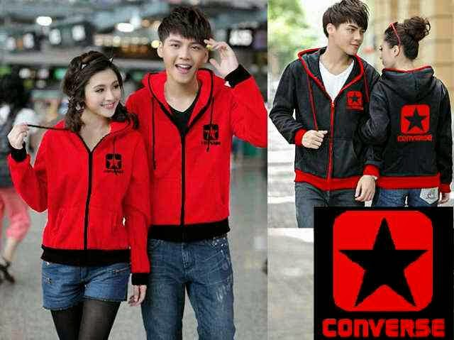 Couple Hodie Jacket Converse