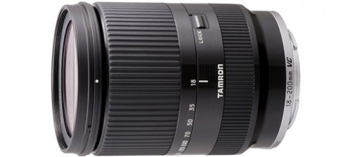 tamron nex e-mount lens 18-200