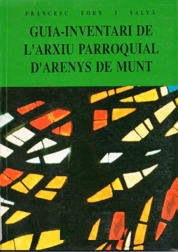 Guia-inventari de l'Arxiu Parroquial d'Arenys de Munt