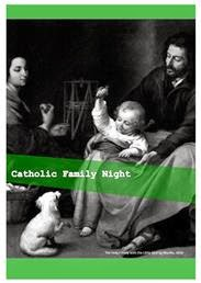 Catholic Family Night: Printable Resource