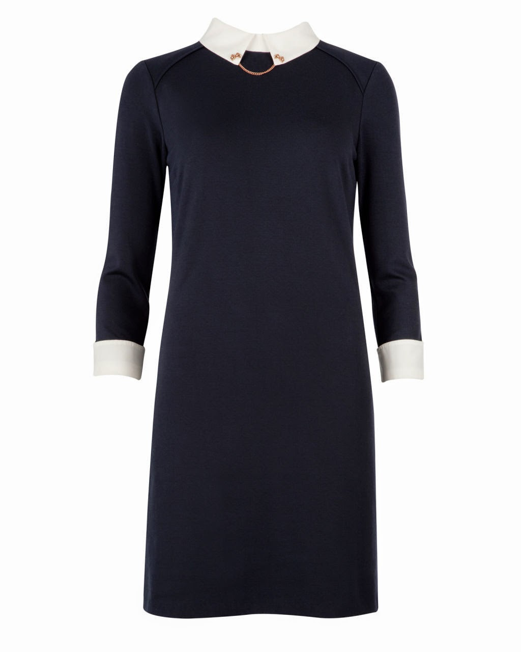 ted baker navy dress