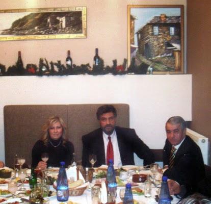 Σε γεύμα με τον επιχειρηματία κ.Διαμαντή Μασούτη