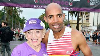 Maratona - Mulher mais velha do Mundo
