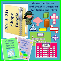 Geometry Games, Activities and Printables